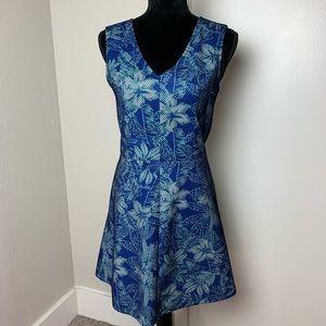 NWT Saks Fifth Avenue Hawaiian Dress